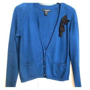 Blue Cardigan from MANGO